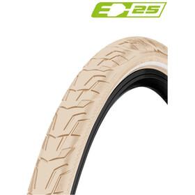 "Continental Ride City Clincher Tyre 28x1.75"" E-25 Reflex, beżowy"
